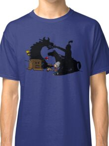 Boy and Box (Knight & Dragon) Classic T-Shirt