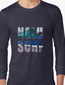 Nalu-Surf Hawaiian Wave Long Sleeve T-Shirt