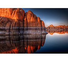 Rock Blocker Photographic Print