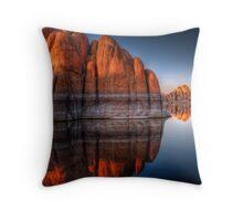 Rock Blocker Throw Pillow