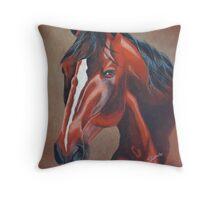 Stockhorse Throw Pillow