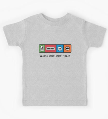 Which one are you? Kids Tee