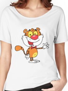 Cheeky Tiger for Kids Women's Relaxed Fit T-Shirt