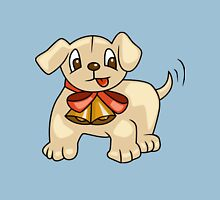 Cute Puppy with Ribbon Unisex T-Shirt