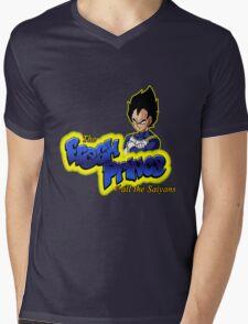 The Fresh Prince of all the Saiyans Mens V-Neck T-Shirt