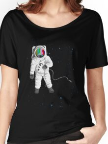 Space Visual Odyssey Women's Relaxed Fit T-Shirt