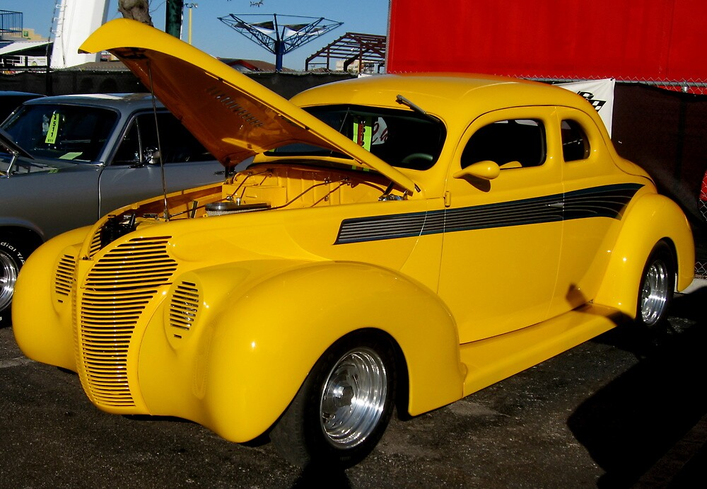 Modified 1940 Ford by Debbie Robbins