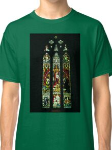 0545 Stained Glass Window Classic T-Shirt