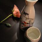 sake and rose treat by LisaBeth
