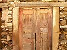 Stone Walled Door by RightSideDown