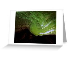 green spirit sky..... last tribute to vincent  Greeting Card