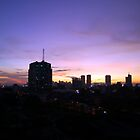 Sunset In the City by Lawrence Crisostomo