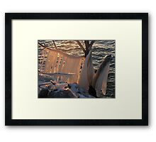 Ice Scupture 2 Framed Print
