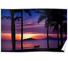 Indochina Sunrise Poster