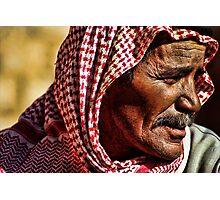Bedouin elder Photographic Print