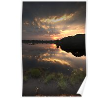 Sunset at Ranthambore Park Poster