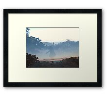 See-through Framed Print