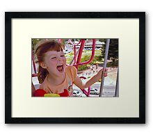 Childs play! Framed Print
