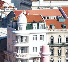 Lisbon Architecture Photographic Print