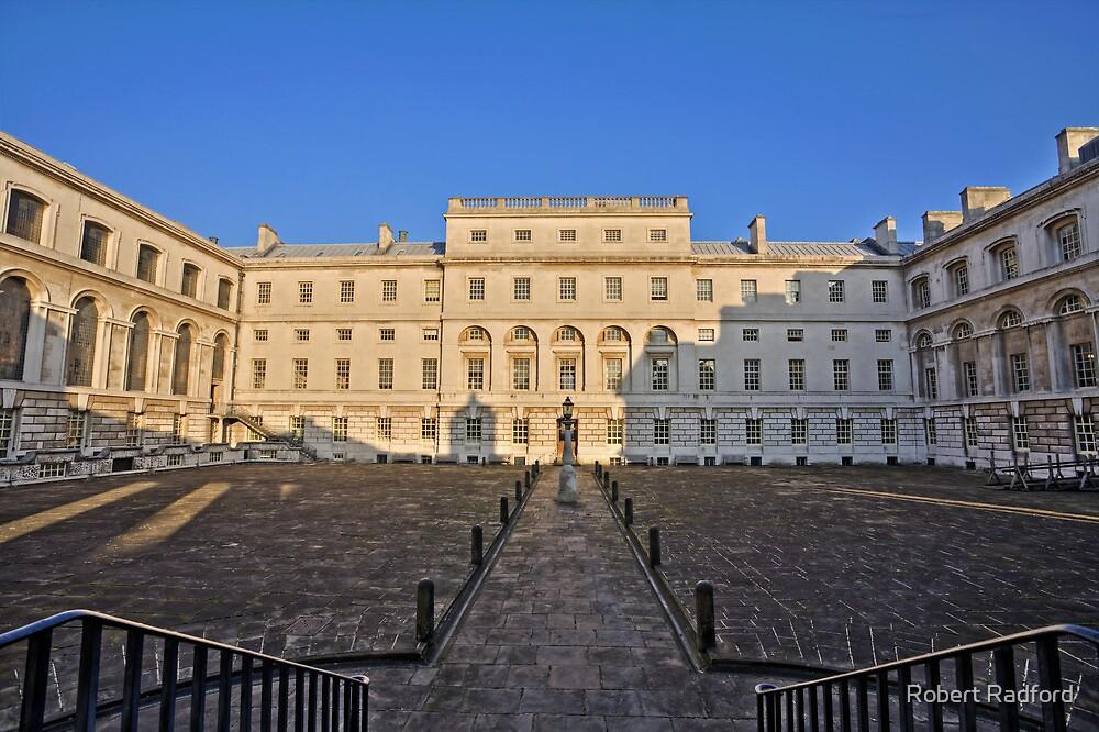 Greenwich Royal Naval Collage Courtyard by Robert Radford