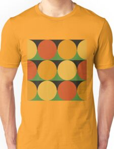70's retro style dotted pattern Unisex T-Shirt