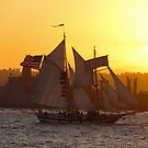 Sailing in to the Sunset by Kimberly Palmer