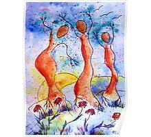 Tree Dancers Poster
