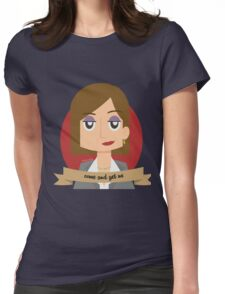 CJ Womens Fitted T-Shirt