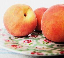 Peaches by Monique Barber