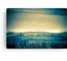 French Landscape Canvas Print