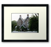 The Old Rectory, Boscastle, Cornwall Framed Print