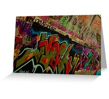 Graffiti - Wollongong Greeting Card