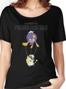 Pokemon meets Metal Gear Solid Women's Relaxed Fit T-Shirt