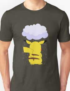 pokemon sad pikachu anime manga shirt T-Shirt