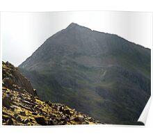Pen-y-Pass towards Snowdon Poster
