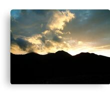 Snowdon Range Canvas Print