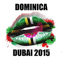 Dominica - Dubai 2015 by JVanessar