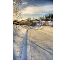 Winding road Photographic Print