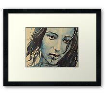 Help Me Make It Through The Night Framed Print