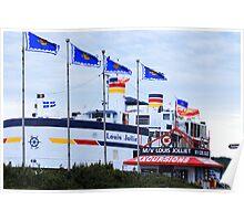 Quebec City Boat Tours Poster