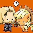 Boromir & Applejack by nipponolife
