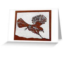 Bird in Flight Greeting Card