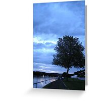 Magritte Tree - Henley on Thames Greeting Card
