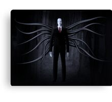 Slender Man is Always Watching Canvas Print