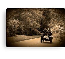Sunday Motoring Canvas Print