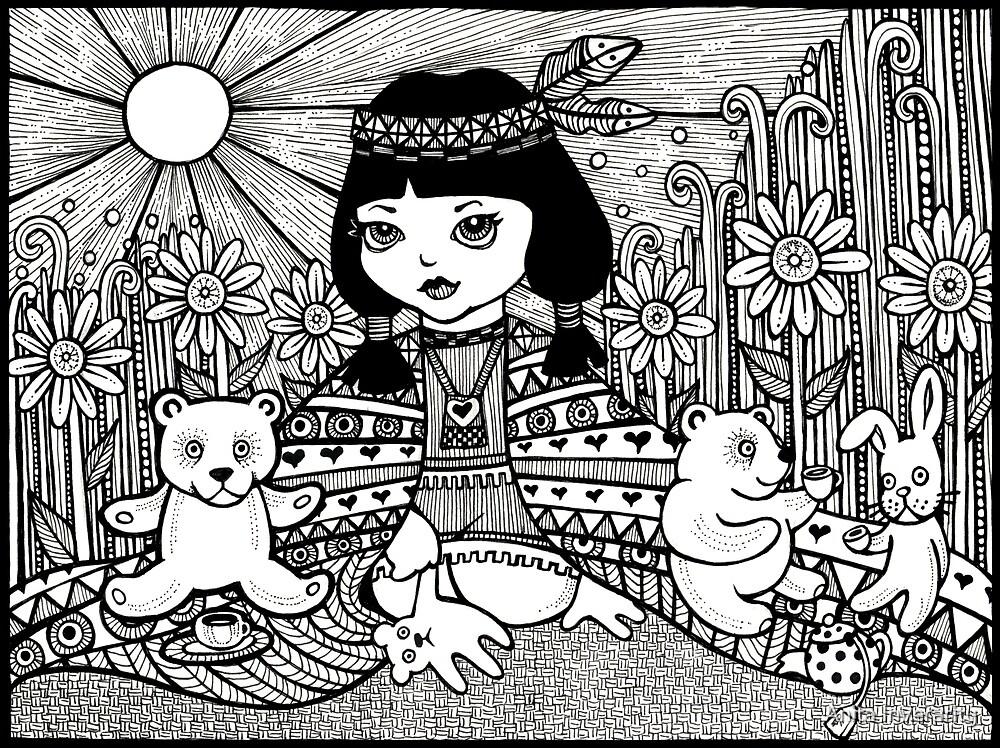 Totsi's Tea Party by Anita Inverarity