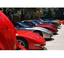 Corvette Event Chicago, IL. Photographic Print