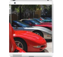 Corvette Event Chicago, IL. iPad Case/Skin