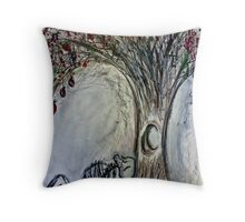 Forbidden Fruit of Mine Throw Pillow