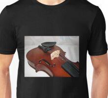 Violin Bridge and Strings Unisex T-Shirt